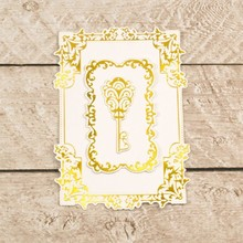 Couture Creations Nesting Treasured Frames Cut, Foil & Emboss Die (CO726468)