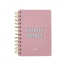 Studio Stationery Notebook Totally Doable Pink (144997)