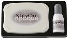 Tsukineko Opaque StazOn Cotton White (SZ-000-110)