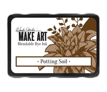 Ranger Wendy Vecchi Make Art Blendable Dye Ink Pad Potting Soil (WVD64367)