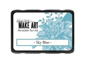 Ranger Wendy Vecchi Make Art Blendable Dye Ink Pad Sky Blue (WVD64374)