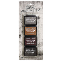 Ranger Tim Holtz Distress Archival Mini Ink Pad Kit #3 (AITK64848)