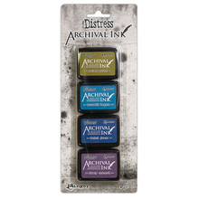 Ranger Tim Holtz Distress Archival Mini Ink Pad Kit #2 (AITK64862)
