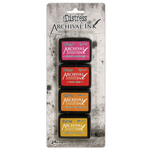Ranger Tim Holtz Distress Archival Mini Ink Pad Kit #1 (AITK64855)
