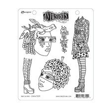 Ranger Dylusions Nuts In May Cling Stamps (DYR67009)
