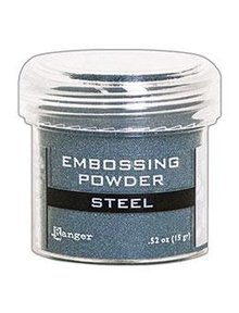 Ranger Embossing Powder Metallic Steel (EPJ66873)