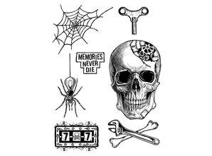 Stamperia Mixed Media Stamps Memories Never Die (WTKAT06)