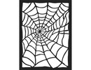 Stamperia Mixed Media Stencil Spider Web (KSAT01)