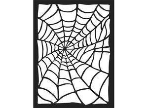 Stamperia Mixed Media Stencil Spider Web (KSAT01)