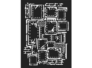 Stamperia Mixed Media Stencil Steampunk (KSAT03)