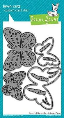 Lawn Fawn Layered Butterflies Dies (LF1913)