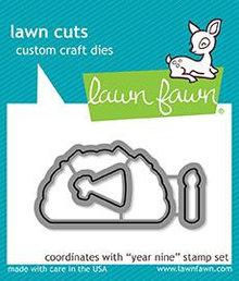 Lawn Fawn Year Nine Dies (LF1902)