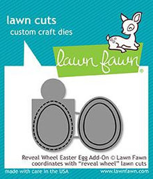 Lawn Fawn Reveal Wheel Easter Egg Add-on Dies (LF1911)