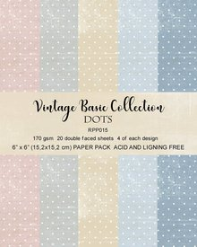 Reprint Dots Basic 6x6 Inch Collection Pack (RRP015)