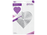 Gemini Torn Edge Heart Papercraft Die (GEM-MD-ELE-TEHE)