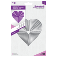 Gemini Stitch Edge Heart Papercraft Die (GEM-MD-ELE-STHE)