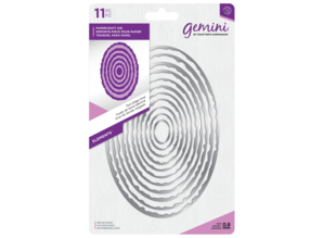 Gemini Torn Edge Oval Papercraft Die (GEM-MD-ELE-TEOV)