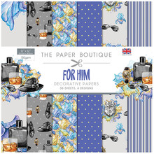 The Paper Boutique For Him 12x12 Inch Paper Pad (PB1094)