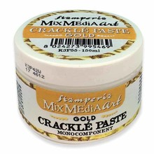 Stamperia Crackle Paste150 ml Gold (K3P55)