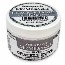 Stamperia Crackle Paste 150ml Silver (K3P56)
