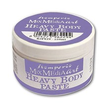 Stamperia Heavy Body Paste 150ml White (K3P42W)