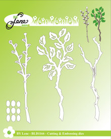 By Lene Metal Dies Branches (BLD1166)