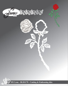 By Lene Metal Dies Rose (BLD1170)
