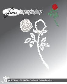 By Lene Metal Dies Rose (BLD1170)
