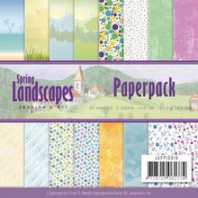 Jeanine's Art Spring Landscapes 6x6 Inch Paper Pack (JAPP10010)