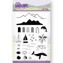 Jeanine's Art Spring Landscape Sea Clear Stamp Set (JACS10027)