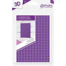 Gemini Dots and Squares Embossing Folder (GEM-EFA6-3D-DS)