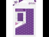 Gemini Honeycomb Embossing Folder (GEM-EFA6-3D-HC)