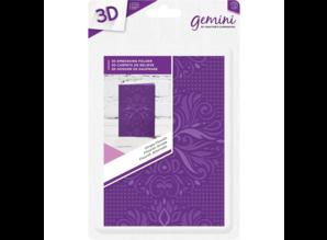 Gemini Ornate Flourish Embossing Folder (GEM-EFA6-3D-OF)