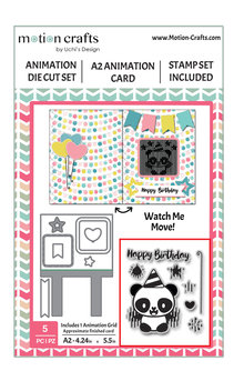 Uchi's Design A2 Animation Card Panda (DC116)