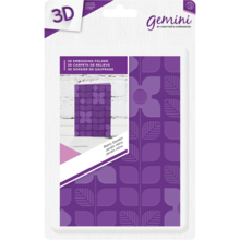 Gemini Retro Garden Embossing Folder (GEM-EFA6-3D-RG)