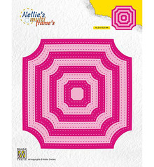 Nellie Snellen Multi Frame Stitched Cornerless Squares (MFD130)