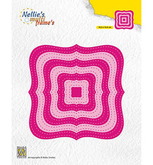 Nellie Snellen Multi Frame Stiched Braced Squares (MFD132)