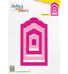 Nellie Snellen Multi Frame Stiched Tags (MFD133)