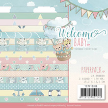 Yvonne Creations Welcome Baby 6x6 Inch Paper Pack (YCPP10018)