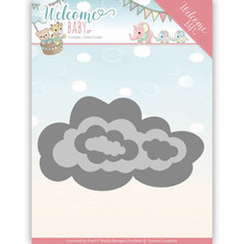 Yvonne Creations Welcome Baby Nesting Clouds Cutting Die (YCD10137)