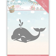 Yvonne Creations Welcome Baby Little Orca Cutting Die (YCD10139)