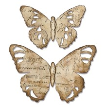 Sizzix Bigz Die Alterations Tattered Butterfly (664166)