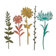 Sizzix Thinlits Alterations Wildflower Stems #1 (664163)