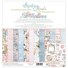 Mintay 7th Heaven 12x12 Inch Scrapbooking Paper Set (MT-7TH-07)