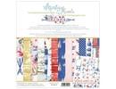 Mintay Marina 12x12 Inch Scrapbooking Paper Set (MT-MAR-07)