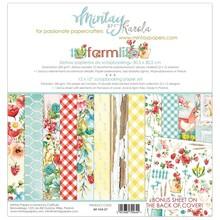 Mintay Farmlife 12x12 Inch Scrapbooking Paper Set (MT-FAR-07)