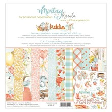 Mintay Kiddie 12x12 Inch Scrapbooking Paper Set (MT-KID-07)