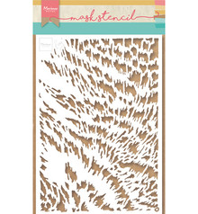 Marianne Design Masking Stencil Tiny's Cat Fur (PS8028)