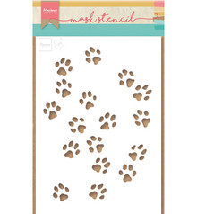 Marianne Design Masking Stencil Tiny's Cat Paws (PS8029)