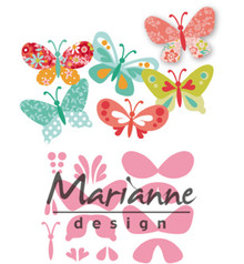 Marianne Design Collectable Eline's Butterflies (COL1466)